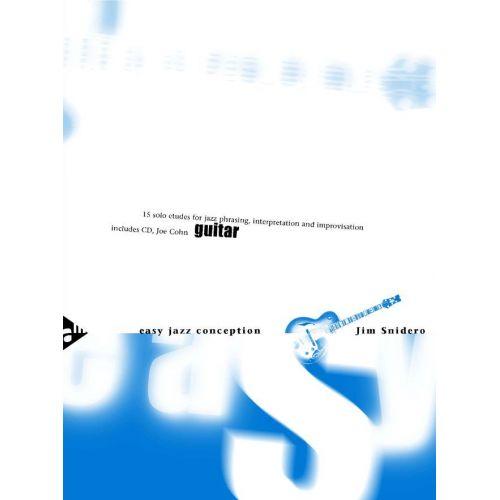 ADVANCE MUSIC SNIDERO J. - EASY JAZZ CONCEPTION GUITAR - GUITAR