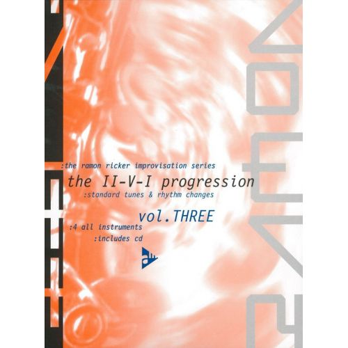 ADVANCE MUSIC RICKER R. - THE RAMON RICKER IMPROVISATION SERIES VOL. 3 - ALL INSTRUMENTS