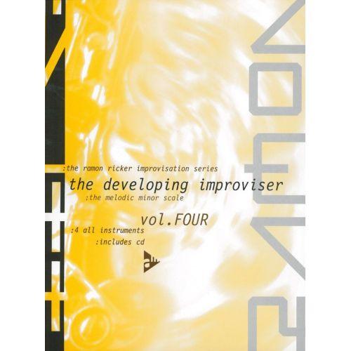 ADVANCE MUSIC RICKER R. - THE RAMON RICKER IMPROVISATION SERIES VOL.4: THE DEVELOPING IMPROVISER VOL. 4 - MELODY I