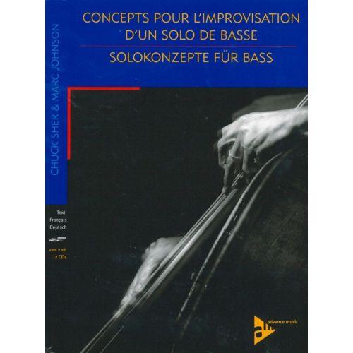 ADVANCE MUSIC JOHNSON M. - CONCEPTS POUR L'IMPROVISATION D'UN SOLO DE BASS - CONTREBASSE