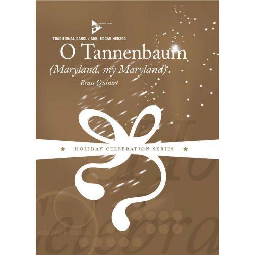 ADVANCE MUSIC HERZOG E. - O TANNENBAUM - BRASS QUINTET