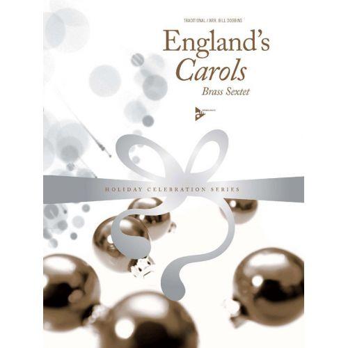 ADVANCE MUSIC DOBBINS B. - ENGLAND'S CAROLS - WIND INSTRUMENTS-SEXTETT