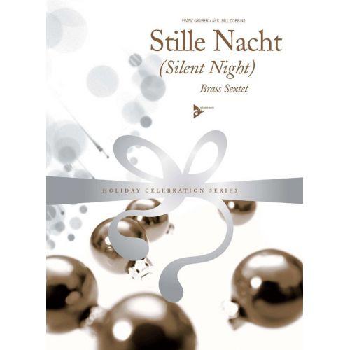 ADVANCE MUSIC GRUBER F. - SILENT NIGHT - BRASS SEXTET (2 TRUMPETS, HORN, 2 TROMBONES, BASS TROMBONE)