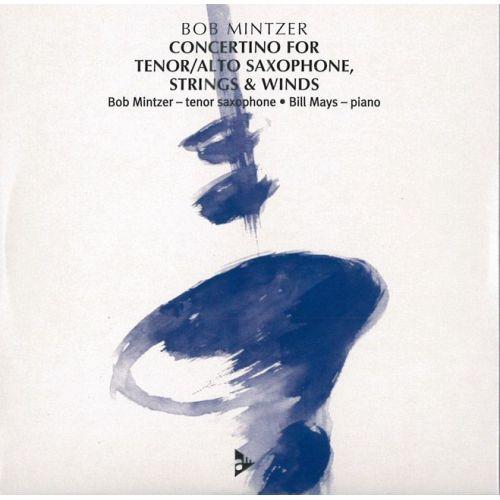 ADVANCE MUSIC MINTZER B. - CONCERTINO FOR TENOR / ALTO SAXOPHONE, STRINGS & WINDS