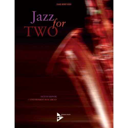 ADVANCE MUSIC CLAUS HENRY K - JAZZ FOR TWO - 2 SAXOPHONES (CLARINETS, FLUTES)