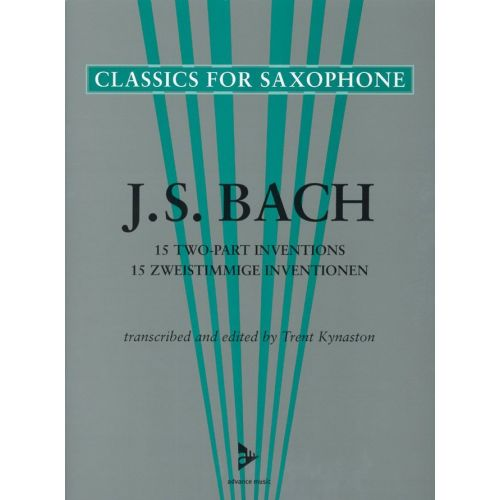 ADVANCE MUSIC BACH J.S. - 15 TWO-PART INVENTIONS - 2 SAXOPHONES