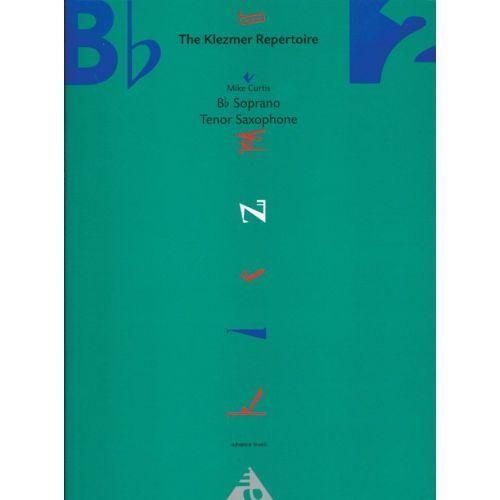 ADVANCE MUSIC CURTIS M. - THE KLEZMER REPERTOIRE VOL. 2 - SAXOPHONE IN BB (SOPRANO OR TENOR)