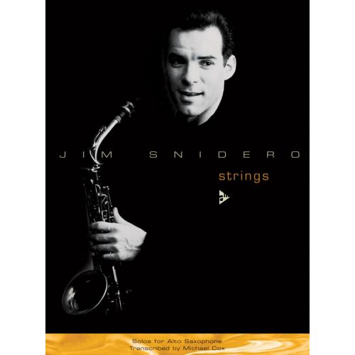 ADVANCE MUSIC SNIDERO J. - STRINGS - ALTO SAXOPHONE