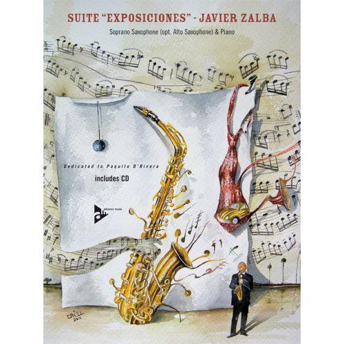 ADVANCE MUSIC ZALBA J. - SUITE 'EXPOSICIONES' - SOPRANO OR ALTO SAXOPHONE AND PIANO