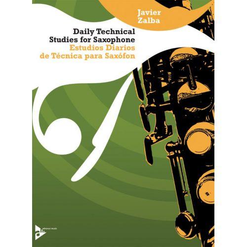 ADVANCE MUSIC ZALBA J. - DAILY TECHNICAL STUDIES FOR SAXOPHONE - SAXOPHONE