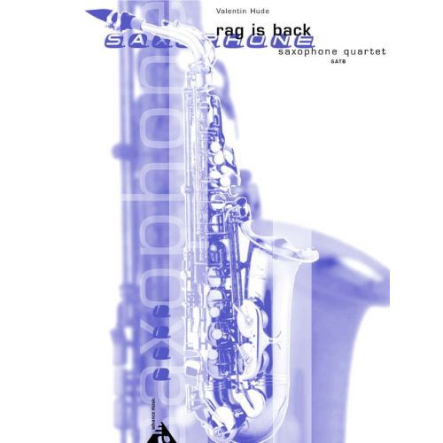 ADVANCE MUSIC HUDE V. - RAG IS BACK - 4 SAXOPHONES (SATB)