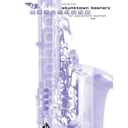 ADVANCE MUSIC MCINTOSH L. - SKUNKTOWN BEANERY - 4 SAXOPHONES (SATBAR)