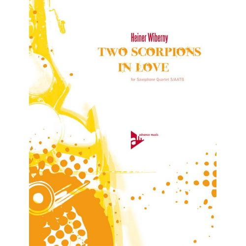 ADVANCE MUSIC WIBERNY H. - TWO SCORPIONS IN LOVE - 4 SAXOPHONES