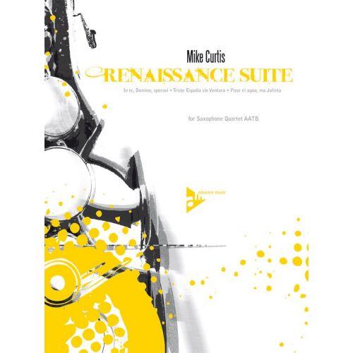 ADVANCE MUSIC DES PRES J. - RENAISSANCE SUITE - 4 SAXOPHONES (AATBAR)