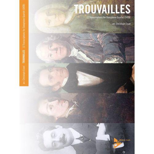 ADVANCE MUSIC ENZEL C. - TROUVAILLES - 4 SAXOPHONES (SATBAR)