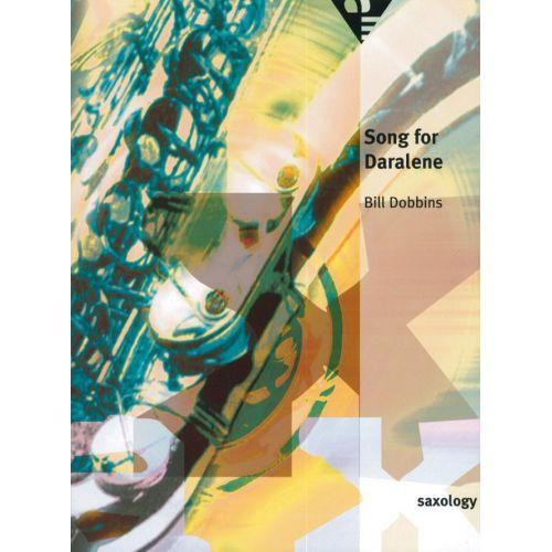 ADVANCE MUSIC DOBBINS B. - SONG FOR DARALENE - 5 SAXOPHONES (AATTB)