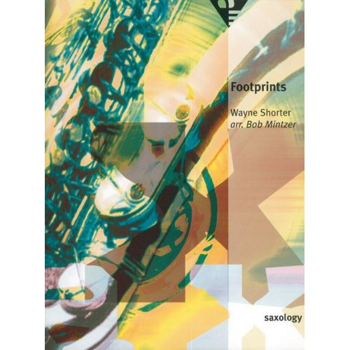ADVANCE MUSIC SHORTER W. - FOOTPRINTS - 5 SAXOPHONES (SATTB)