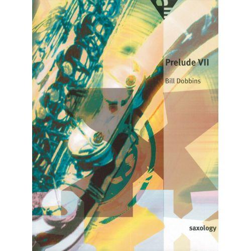 ADVANCE MUSIC DOBBINS B. - PRELUDE VII - 5 SAXOPHONES (SATTB)