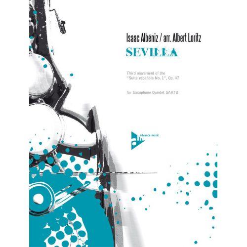 ADVANCE MUSIC ALBENIZ I. - SEVILLA - 5 SAXOPHONES (SAATBAR)