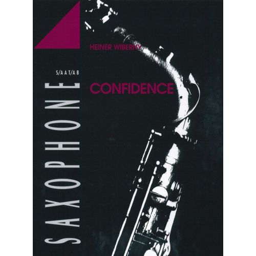 ADVANCE MUSIC WIBERNY H. - CONFIDENCE - 4 SAXOPHONES (SATBAR/AATBAR/SAABAR/AAABAR)