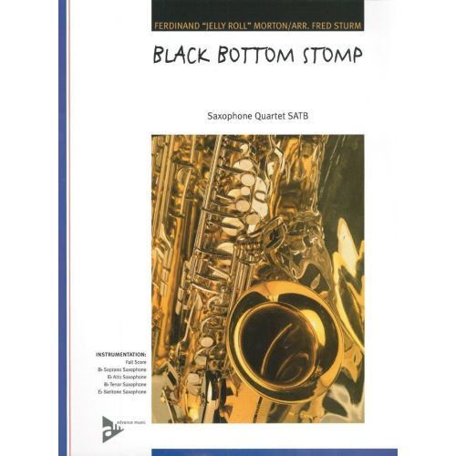 ADVANCE MUSIC MORTON J.R. - BLACK BOTTOM STOMP - 4 SAXOPHONES (SATBAR)