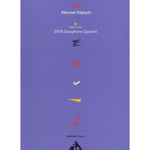 ADVANCE MUSIC CURTIS M. - KLEZMER TRIPTYCH - 4 SAXOPHONES (SATB)