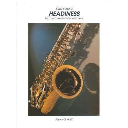 ADVANCE MUSIC PAUER F. - HEADINESS - 4 SAXOPHONES