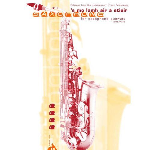 ADVANCE MUSIC REINSHAGEN F. - 'S MO LAMH AIR A STIUIR - 4 SAXOPHONES (SATBAR/AATBAR)