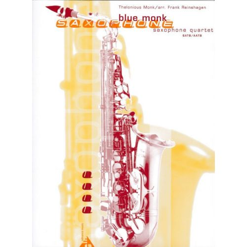 ADVANCE MUSIC MONK T. - BLUE MONK - 4 SAXOPHONES (AATB/SATB)