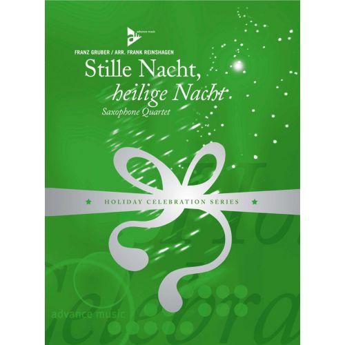 ADVANCE MUSIC GRUBER F. - STILLE NACHT, HEILIGE NACHT - 4 SAXOPHONES (SATB/AATB)