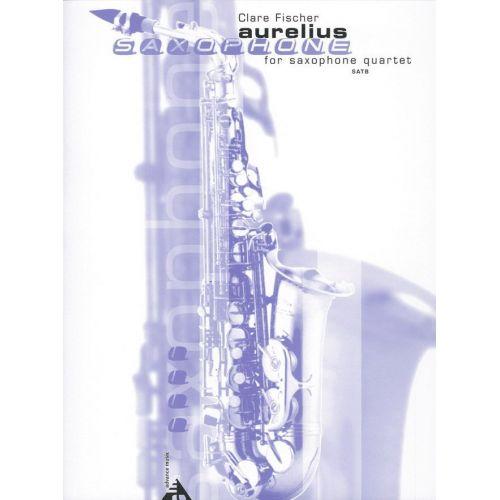 ADVANCE MUSIC FISCHER C. - AURELIUS - 4 SAXOPHONES (SATB)