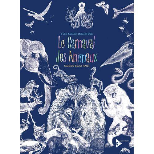 ADVANCE MUSIC SAINT-SAENS C. - LE CARNAVAL DES ANIMAUX - 4 SAXOPHONES (SATBAR)