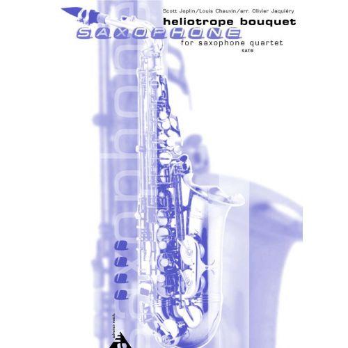 ADVANCE MUSIC CHAUVIN L. - HELIOTROPE BOUQUET - 4 SAXOPHONES (SATBAR)