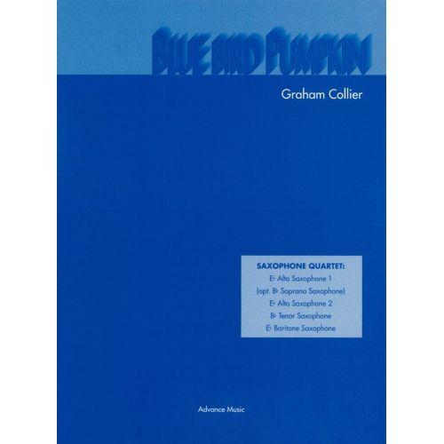 ADVANCE MUSIC COLLIER G. - BLUE BIRD PUMPKIN - 4 SAXOPHONES (AATB/ SATB)