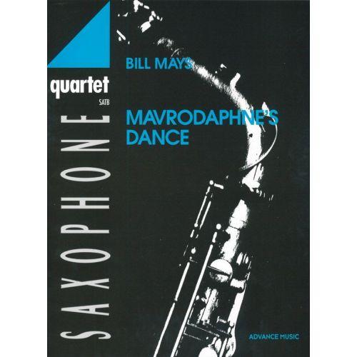 ADVANCE MUSIC MAYS B. - MAVRODAPHNE'S DANCE - 4 SAXOPHONES (SATB)