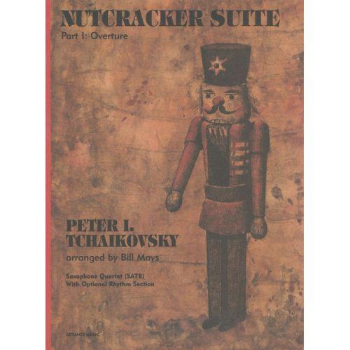 ADVANCE MUSIC TCHAIKOVSKY P.I. - NUTCRACKER SUITE - 4 SAXOPHONES (SATBAR); OPTIONAL RHYTHM SECTION