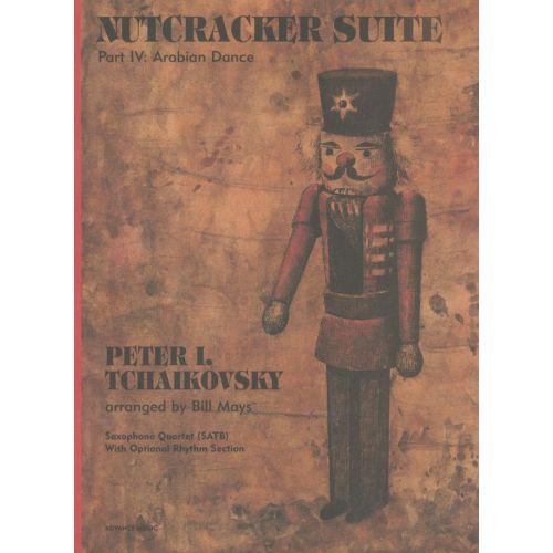 ADVANCE MUSIC TCHAIKOVSKY P.I. - NUTCRACKER SUITE - 4 SAXOPHONES (SATBAR) + OPT. PIANO, BASS, DRUMS