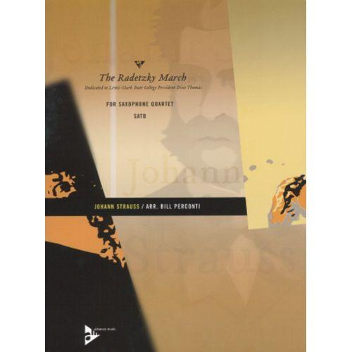 ADVANCE MUSIC STRAUSS J. - THE RADETZKY MARCH - 4 SAXOPHONES (SATBAR)
