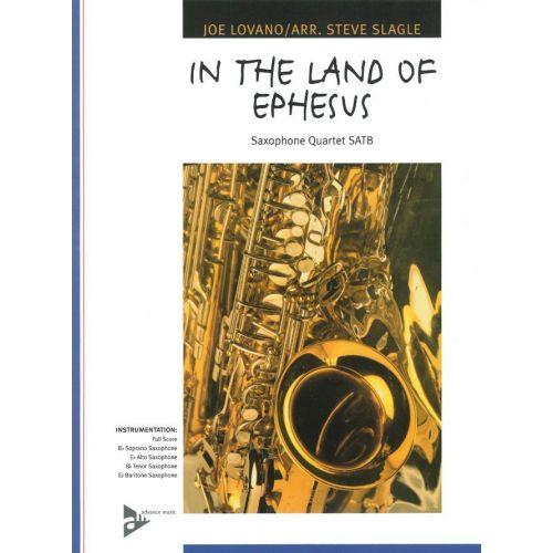 ADVANCE MUSIC LOVANO J. - IN THE LAND OF EPHESUS - 4 SAXOPHONES (SATBAR)
