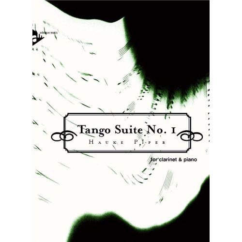ADVANCE MUSIC PIPER H. - TANGO SUITE NO. 1 - CLARINET AND PIANO