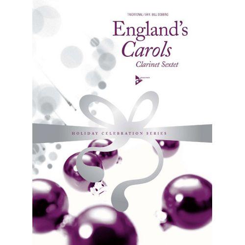 ADVANCE MUSIC DOBBINS B. - ENGLAND'S CAROLS - 6 CLARINETTES