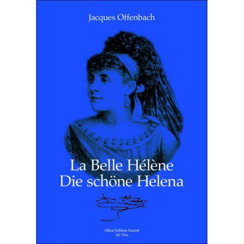 ALKOR-EDITION KASSEL OFFENBACH J. - LA BELLE HELENE - VOCAL SCORE