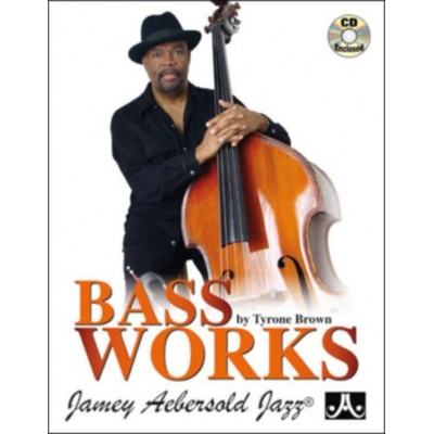 AEBERSOLD BROWN T. - BASS WORKS + CD