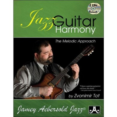 AEBERSOLD TOT ZVONIMIR - JAZZ GUITAR HARMONY + 2 CD