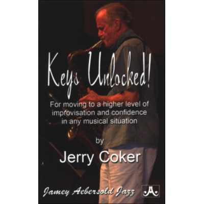 AEBERSOLD JERRY COKER - KEYS UNLOCKED - AEBERSOLD POCKET GUIDE