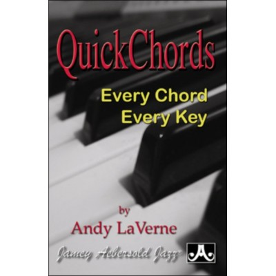 AEBERSOLD ANDY LAVERNE - QUICK CHORDS - AEBERSOLD POCKET GUIDE