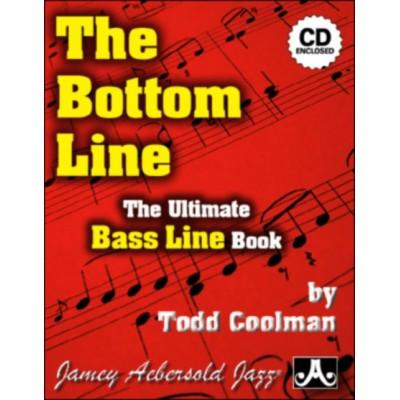 AEBERSOLD COOLMAN T. - THE BOTTOM LINE - BASSE + CD