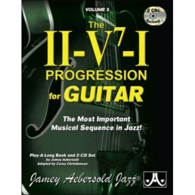 AEBERSOLD AEBERSOLD J. - THE II-V7-I PROGRESSION FOR GUITAR