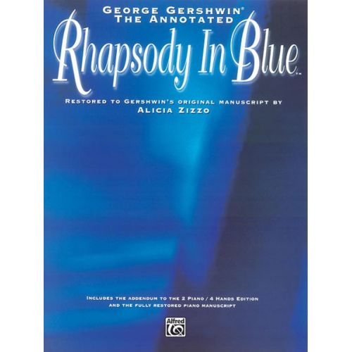 ALFRED PUBLISHING GERSHWIN GEORGE - RHAPSODY IN BLUE - PIANO SOLO