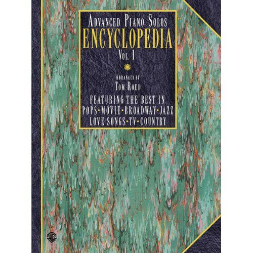 ALFRED PUBLISHING ADVANCED PIANO SOLOS ENCYCLOPEDIA VOL1 - PIANO SOLO